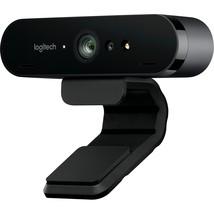 Logitech BRIO Webcam - 90 fps - USB 3.0 - 4096 x 2160 Video - Auto-focus... - $237.98