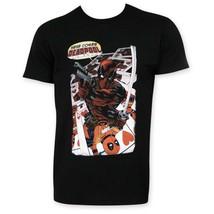 Deadpool Men's Here Comes Deadpool Tee Shirt Black - $18.98+