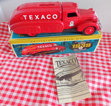 1939 Dodge (Texaco) Air Flow Tanker bank. Key is present.  #9500.  Made ... - $27.99