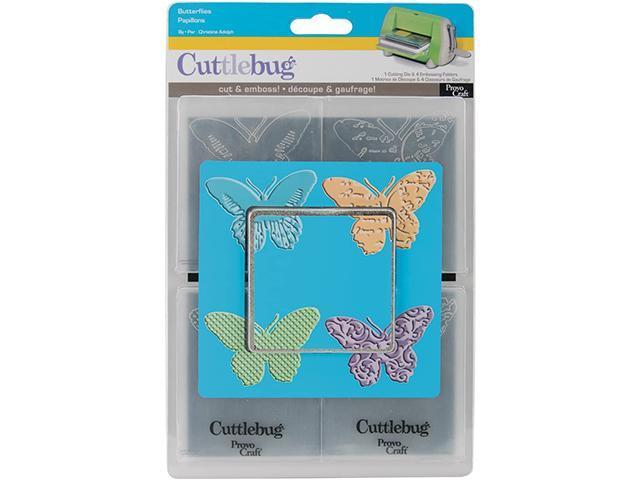 Cuttlebug Butterflies Embossing Folders and Die Set #37-1651