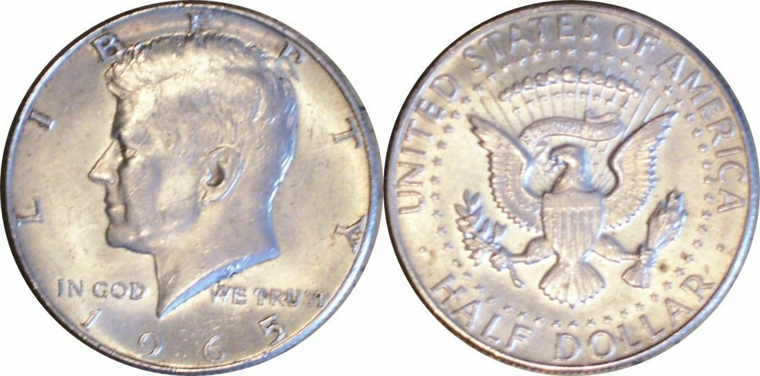 1965 Kennedy Half Dollar Combined Shipping CP2002