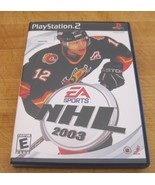 NHL 2003  (Sony PlayStation 2, 2002) - $3.96
