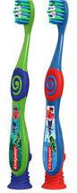 Colgate Kids PJ MASKS Gift Set Two Manual Toothbrushes fluoride Toothpaste 4.6OZ image 5