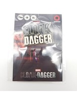 SDCC 2018 Marvel Cloak & Dagger Logo Pin Button Convention Exclusive Fre... - $9.64