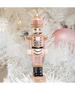 Rose Gold Colored Nutcracker Ornament - $24.74