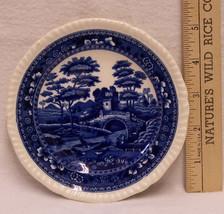 "Vintage Small Plate Copeland England Spodes Tower Cobalt Blue  5 1/2"" Di... - $12.86"