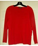 Ralph Lauren Red  3/4 Sleeve Top Sz. 2X Cotton - $13.85