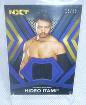 2017 Topps WWE Wrestling Hideo Itami NXT Event Worn Shirt Relic Card #ed... - $9.89