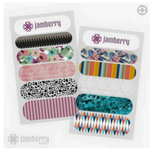 Jamberry Nails Sample Half Sheet Free Shipping Style 3 plus GIFT New! Manicure image 2