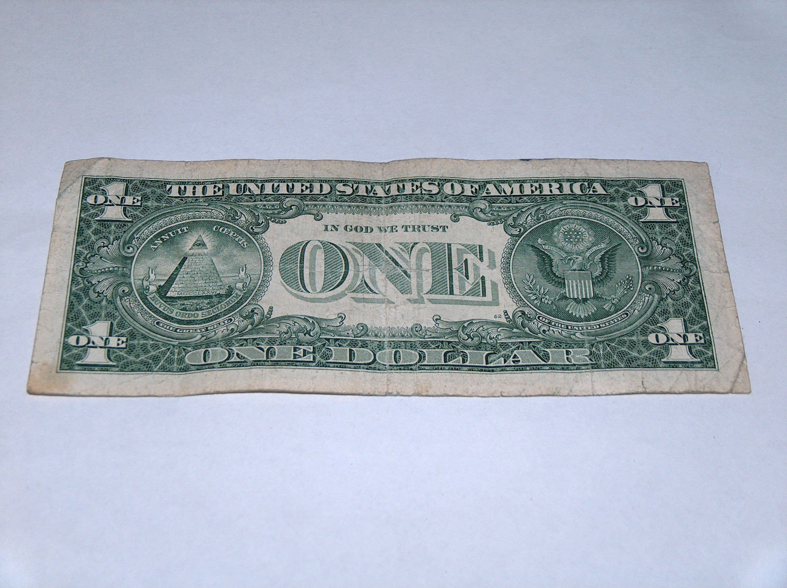 2009 $1 Dollar Bill US Bank Note Date WWII Year Birthday 6756 1944 Fancy Serial image 2