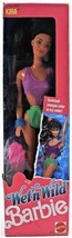 1989 Wet N Wild Barbie Kira Never Removed from Box Color Changing Swimsuit - $28.04
