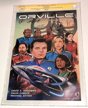 CGC SS Fox Seth McFarlane The Orville Cast SIGNED X11 Poster Adrianne Pa... - $395.99