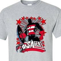 U.S. Agent t shirt Marvel comics Super Patriot Avengers retro 1980's graphic tee image 2