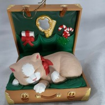 Hallmark Cat Naps Christmas Ornament 1997 Collectors Series Fourth In Se... - $11.26