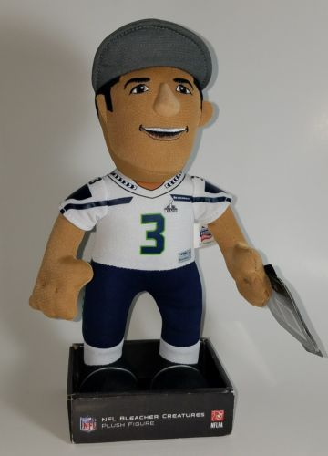 Russell Wilson Seattle Seahawks Superbowl champ Bleacher Creatures Plush Figure