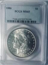 1886 Morgan Silver Dollar - PCGS MS-65 - Mint State 65 - $230.67
