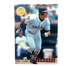 Jim Edmonds 1995 Fleer Ultra Gold Medallion Paralllel #21 MLB California Angels - $1.93