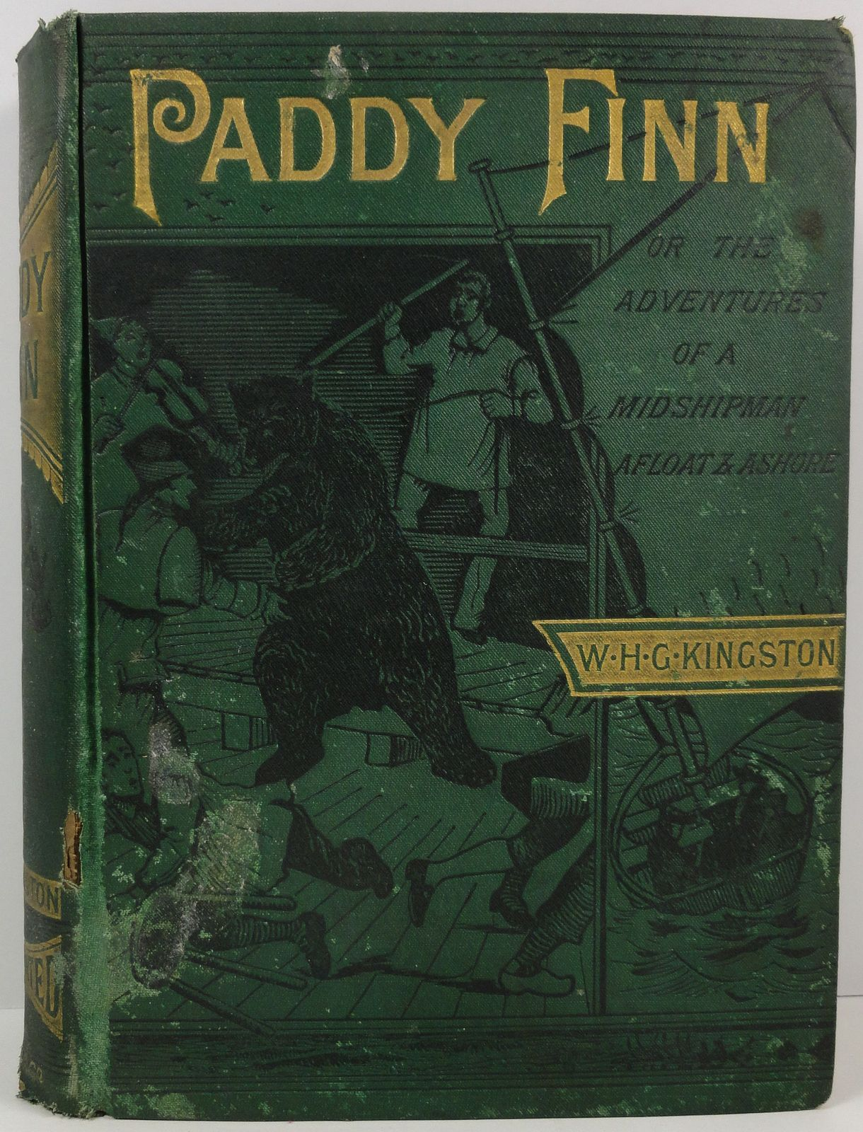 Primary image for Paddy Finn William H. G. Kingston 1883 Griffith and Farran