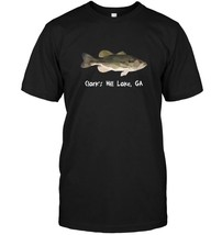 Clarks Hill Lake GA Largemouth Bass T shirt Bass Lover Gift - $17.99+