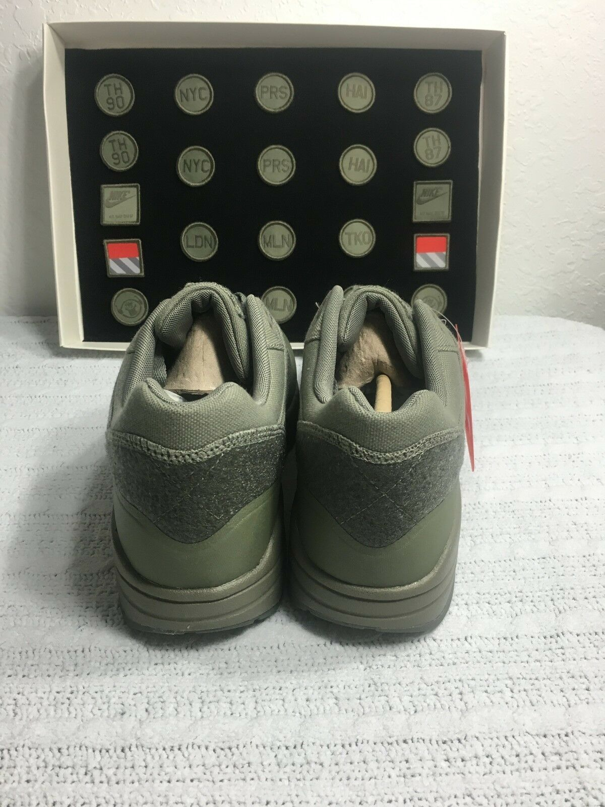 Nike Air Max 1 V Sp Patch Steel Green Men and 50 similar items