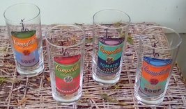 Vintage Andy Warhol Campbell's Soup Drinking Glasses.  G - 038 image 2