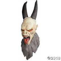 Trick or Treat Studios Women's Krampus Halloween Mask One Size White - £53.14 GBP