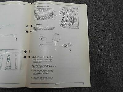 1986 Saab 900 B202i 16 Ventil Motor Ergänzung Service Reparatur Manuell