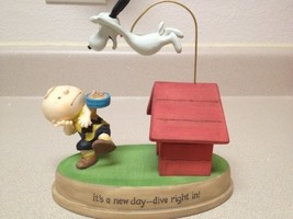 Peanuts - Snoopy and Charlie Brown - It's a New Day - Dive Right In - Figurine - $51.60