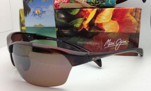 Nuevas Polarizadas Maui Jim Gafas de Sol Sexy Tierra Mj 426-26 Rootbeer Hcl image 6