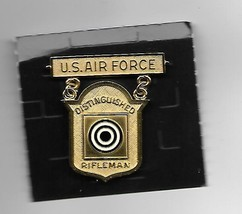 Air Force Gold Distinguished Rifleman Badge - $66.49