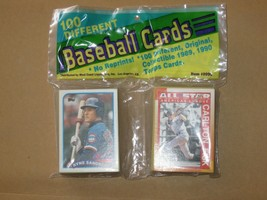 TOPPS Baseball Cards 100 Different 1989-90  unopened Item 8990,./320 - $14.00