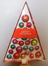 "2015 Starbucks Christmas Advent Ornament Calendar No Candy 20.5 x 15.5"" - $29.00"
