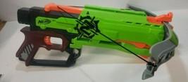 Nerf Zombie Strike Crossfire Bow Crossbow Soft Dart Gun Toy Blaster Gree... - $28.04