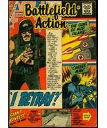 Battlefield Action #26 1959- Charlton War- WWII stories G/VG - $24.83