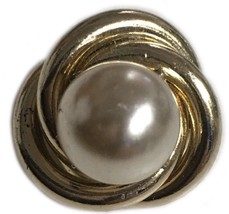 Vintage Coro Faux Pearl Small Brooch Pin Costume Jewelry - $24.23