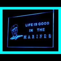 150071B Marines Life is Good US Delta Force Commander Display LED Light Sign - $18.00