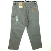 Carhartt Men's Loose Fit Five Pocket Canvas Carpenter Pant B159 38 X 32 ... - $34.29