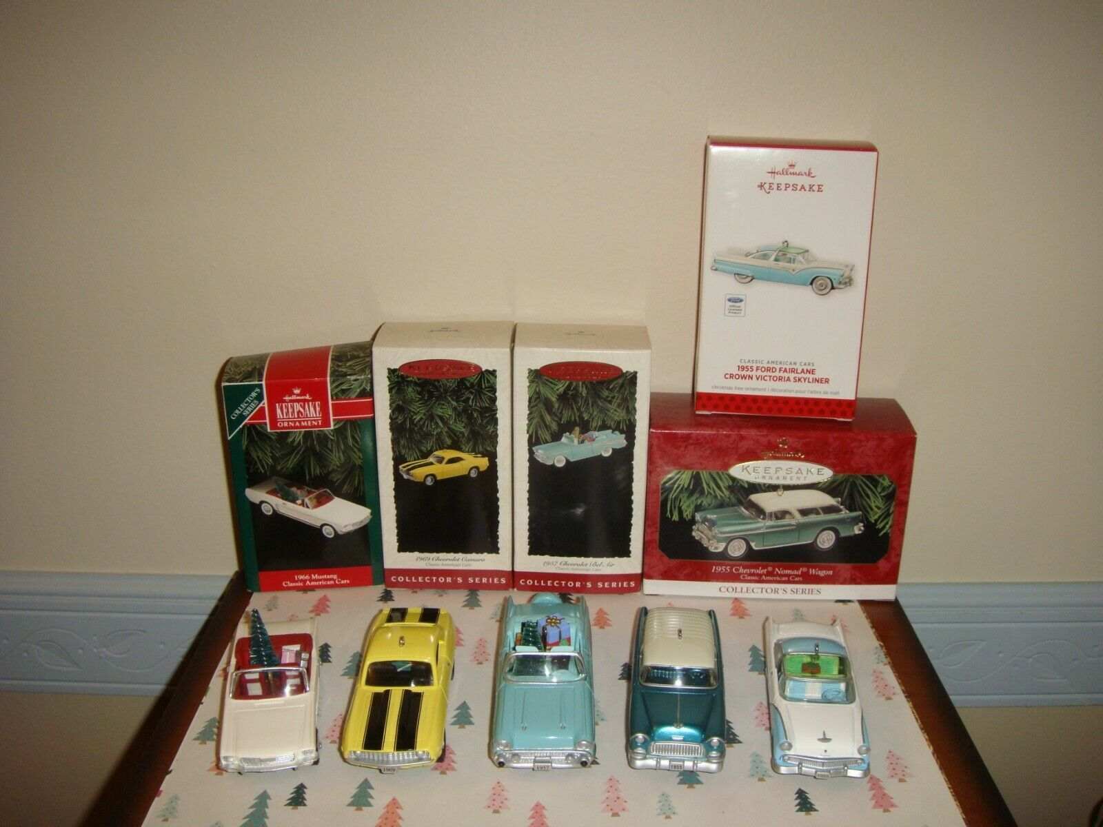 Hallmark 92, 94, 95, 99, 13 American Classic Cars Series 2, 4, 5, 9, 23 Ornament - $67.99