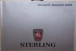 1988 STERLING 825 S  825 SL OWNERS MANUAL PARTS SERVICE 1987 1989 - $34.99