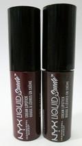 NYX Liquid Suede Cream Lipstick Mini Duo Cherry Skies & Club Hopper UNSEALED  - $6.00