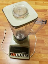 Vintage 1970's Osterizer 10-Speed Blender Mixer 869-15F -Avocado *Preowned* - $35.96