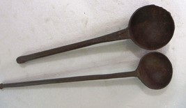 Aged Kitchen Cooking Spoon Ladle Forge Iron Mix... - $23.03