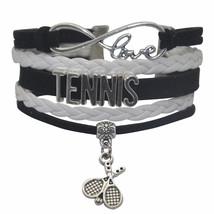 HHHbeauty Mens Womens Tennis Bracelet - White Black Tennis Bracelet for ... - $24.42