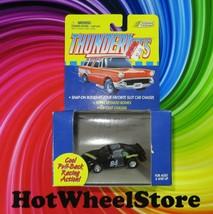 1999 Johnny Lightning  ThunderJet 500  Black  90s STOCK CAR T-BIRD   O4-... - $8.95