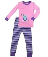 Kirkland Signature Girls 2-Piece Organic Cotton Pajama Set size 4 - $16.82