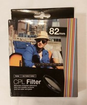 VIVITAR CPL FILTER 82mm Removes Unwanted Reflections - $8.81