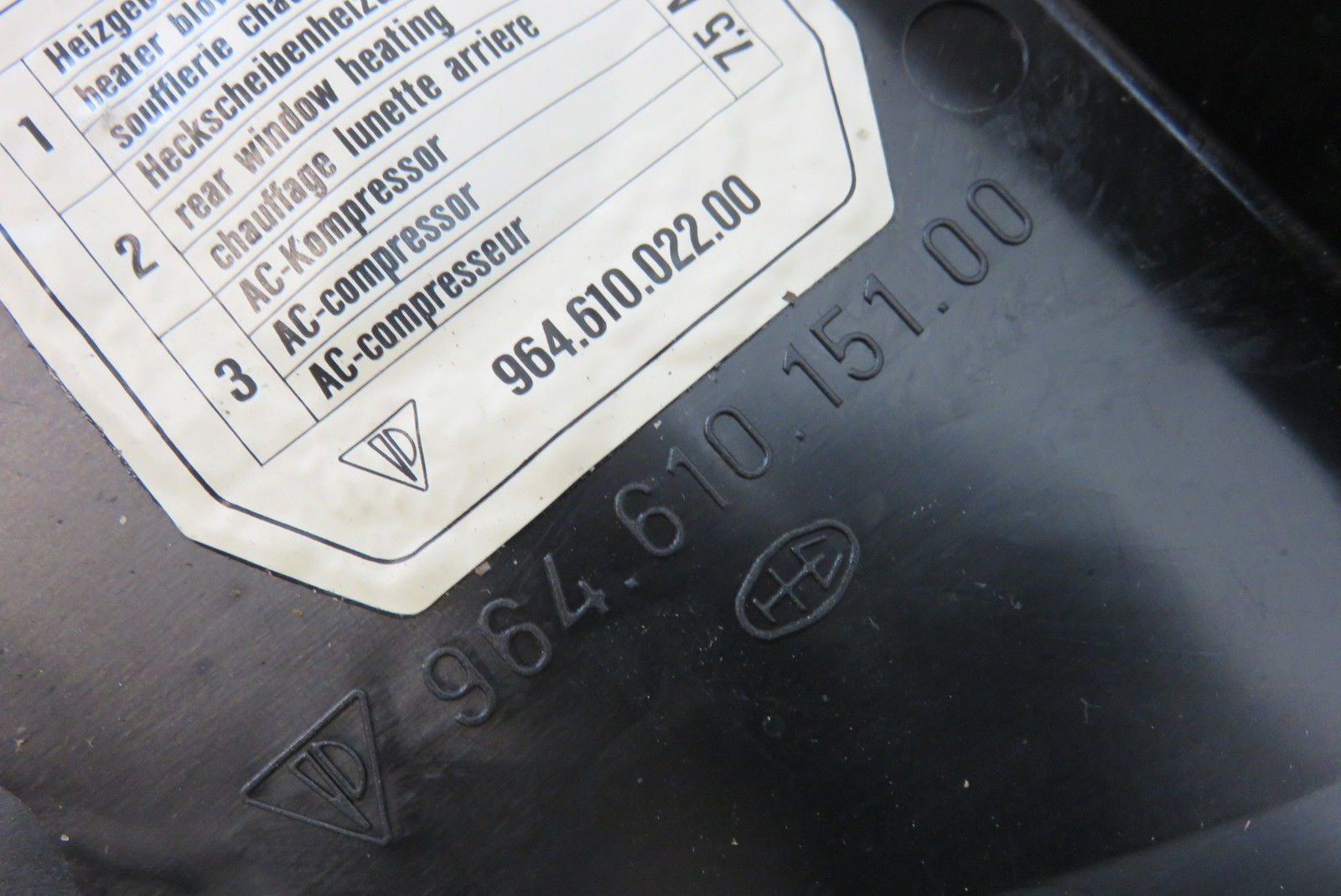 porsche 911 964 fuse box housing engine and similar items rh bonanza com