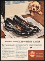 Vintage magazine ad SHELL gas oil from 1944 puppy pictured Albert Staehle art - $11.69