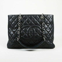 """Chanel 2010-2011 Quilted Leather """"Grand Shopping"""" Tote Bag - $2,360.00"""