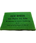 1910 Der Rhein von Mainz bis Köln Postcard Pack  - $15.95